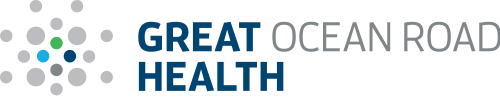 Launching Great Ocean Road Health logo